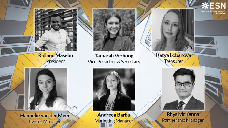 Meet the 13th Board of ESN Rotterdam!
