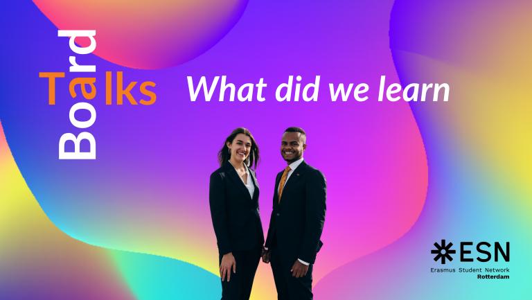 Board Talks: President & VP/Secretary