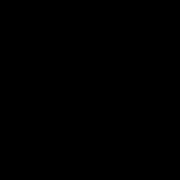 Unpack & Kayak Logo, Black Transparent (1)